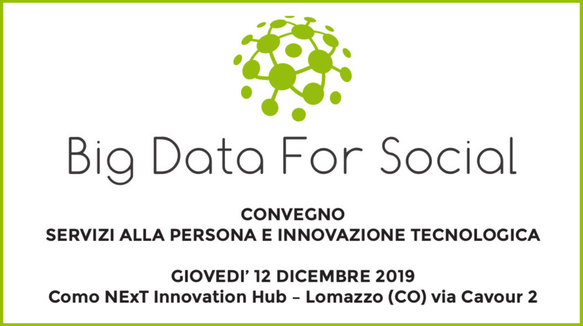 Convegno Big Data for Social